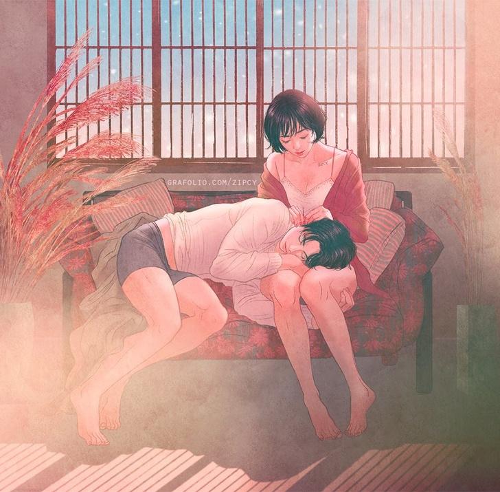 Un artiste coréen crée des illustrations tendre que vous comprendrez si vous êtes amoureux