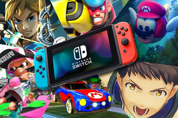 Les meilleurs jeux de Nintendo Switch sont maintenant disponibles