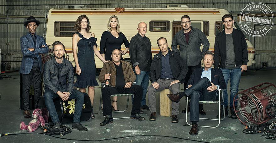 «Breaking Bad» Cast Reunites pour célébrer le 10eme anniversaire de l'émission