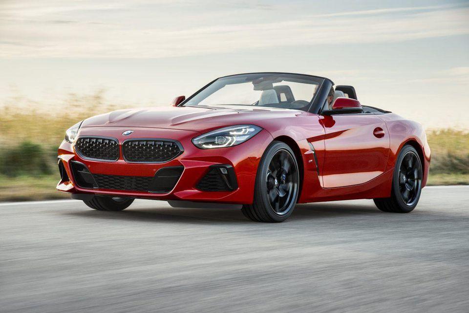BMW dévoilera le Z4 M40i 2019 jeudi à Monterey Car Week