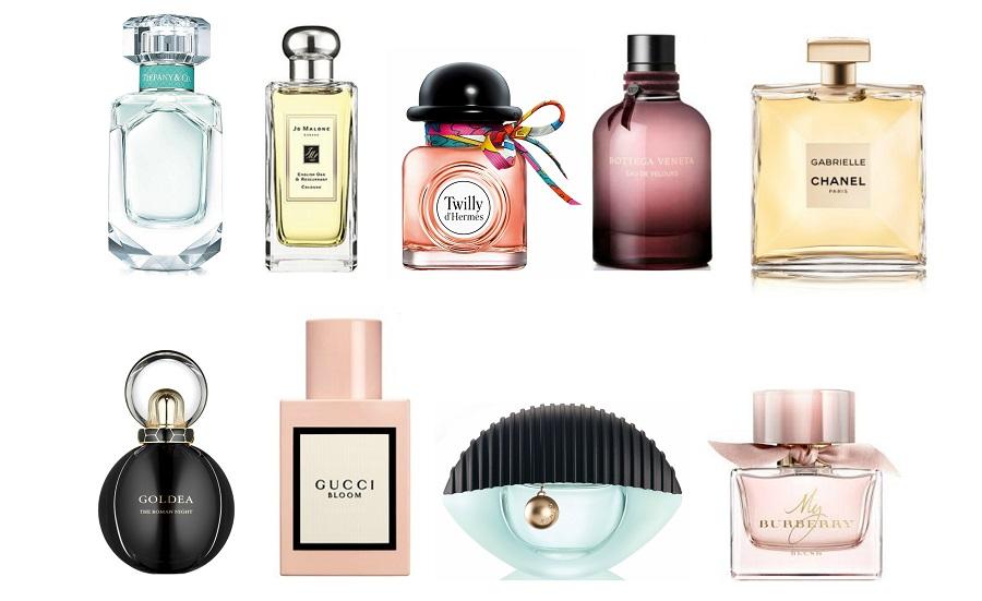 les meilleurs parfums pour femmes en 2018
