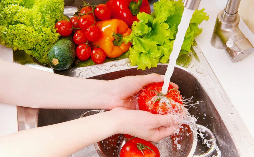 Comment laver certains aliments correctement